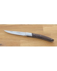 4 couteaux office lames inox manche palissandre