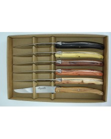 Coffret Laguiole, 6 bois differents LAGUIOLE PAR BJB