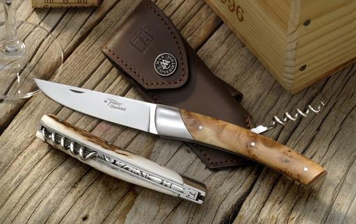 Découvrez la création des couteaux...